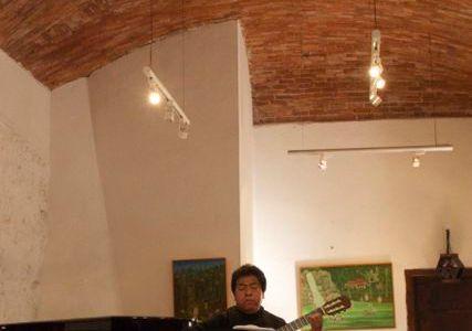 12/14 個人美術館で超絶クラシックギター鑑賞 , Guanafuato, Mexico