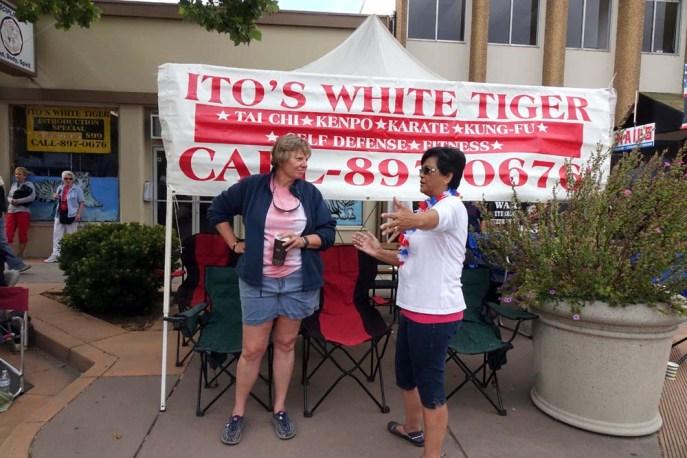 Ito's white tiger tent