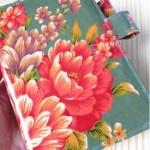 新しいほぼ日手帳カバーは素敵な台湾花布よー! (手作りほぼ日カバー)