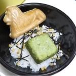 「三越ライオン像誕生100周年祭」のお歳暮 ~ライオン最中茶漬け