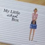"""9月の『MY LITTLE BOX(マイリトルボックス)』開けたよレポ テーマは""""SCHOOL"""""""