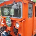 クラブツーリズムのバスツアー『雪の大谷ウォーク立山黒部アルペンルートと黒部峡谷トロッコ電車』で旅行中だよー