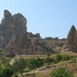 【トルコ旅行】カッパドキアのウチヒサール