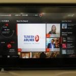 【トルコ旅行】ターキッシュ エアラインズの座席の液晶モニターがタブレットのようで使いやすかった!