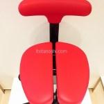有名進学塾が使っている学習能力が向上する椅子『アーユルチェア』に座って集中してお話を伺ってきました