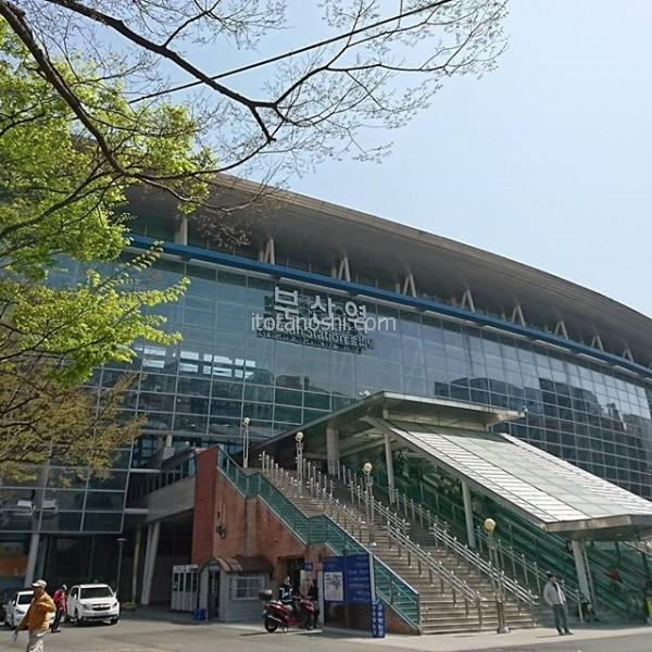 釜山駅に到着#韓国 #Korea #釜山 #busan