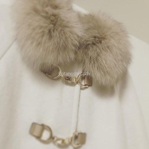 冬のオシャレに持っていたい白いコート、汚すから着るのに勇気が必要?