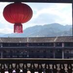 【アモイ旅行】福建の客家土楼の4回からの景色