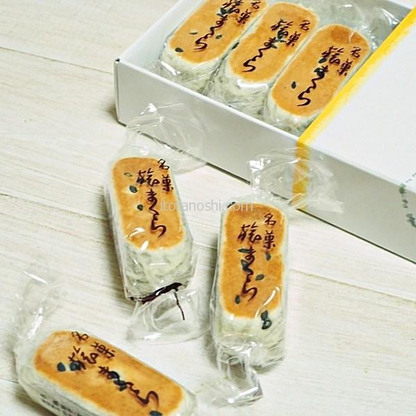 【名古屋みやげ】創業380年の老舗の本格派の茶通、両口屋是清の旅まくら