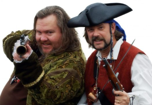 The founders of International Talk Like a Pirate Day
