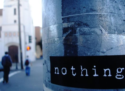 Nothing sign