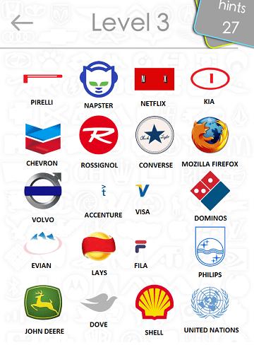 Logos Level 3 : logos, level, Logos, Answers:, Level, 2iTouchApps.net, IPhone/iPad, Resource
