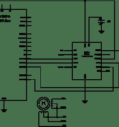 schematic of tb6612 h bridge controlling a stepper [ 1701 x 1306 Pixel ]