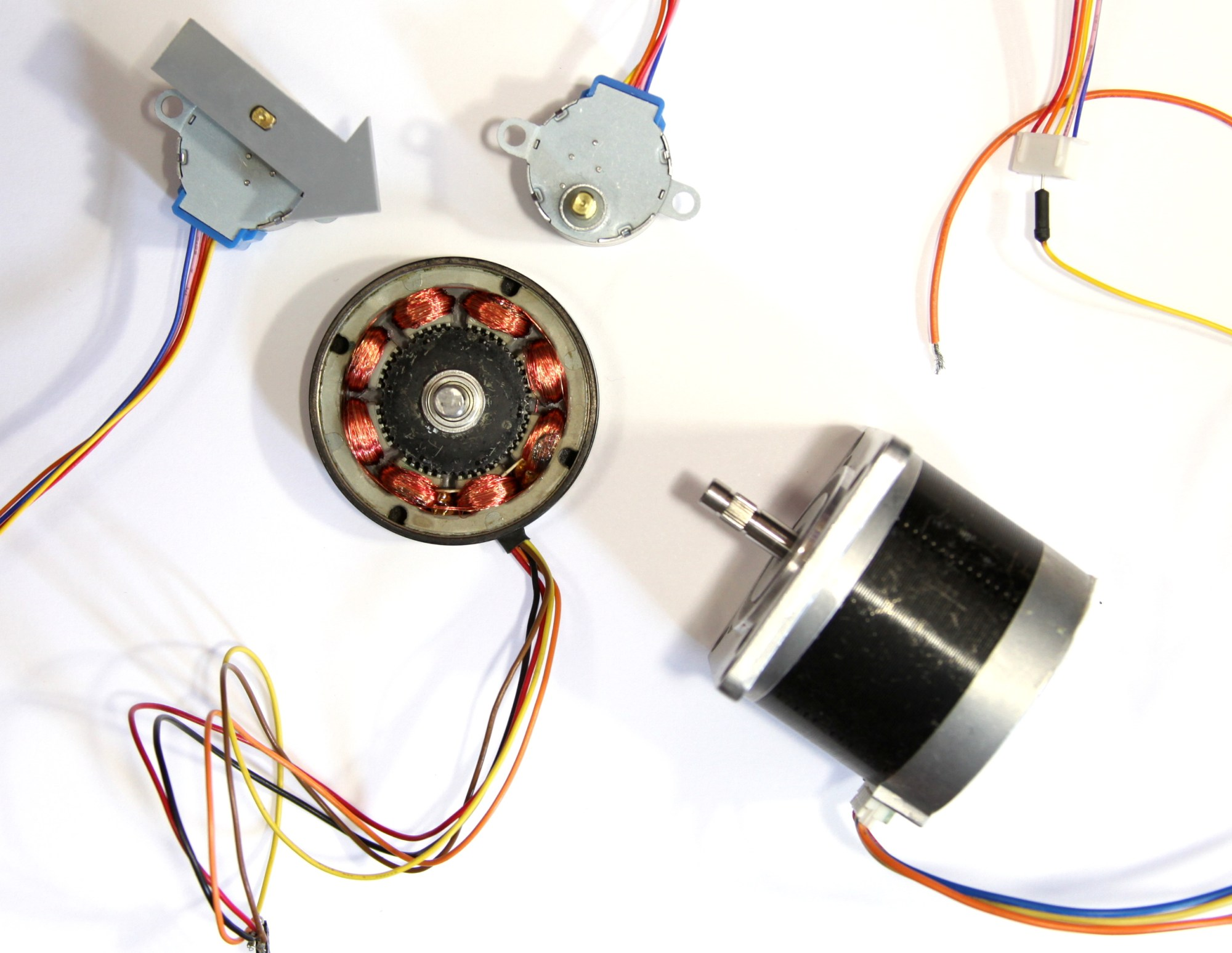 hight resolution of stepper motor
