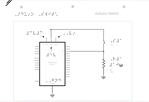 Emily's design of an arduino switch