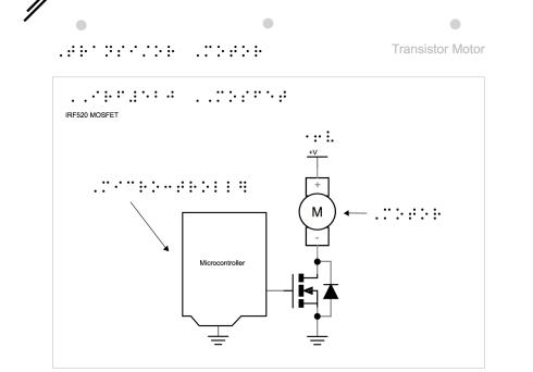 Emily's design of a transistor motor
