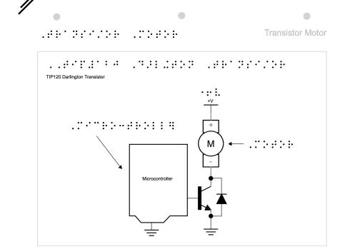 Emily's design of 2nd transistor motor