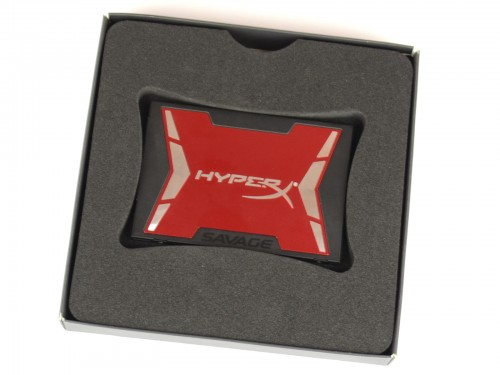 Kingston HyperX Savage 240gb - pakowanie
