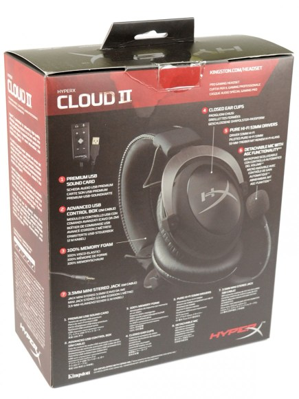 Kingston HyperX Cloud II - pudelko2
