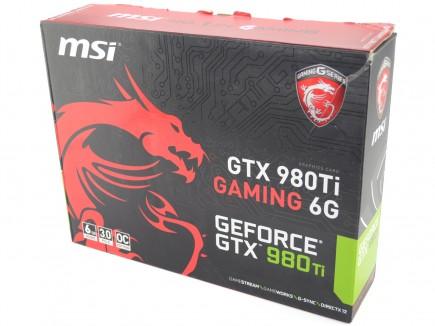 MSI GTX980 Ti Gaming 6G - pic1a
