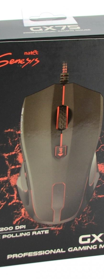 Natec Genesis GX75 - pudlo1
