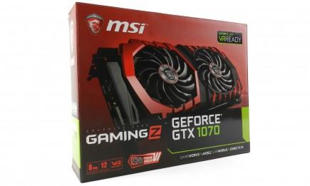 MSI GTX1070 Gaming Z 8G - pic1a