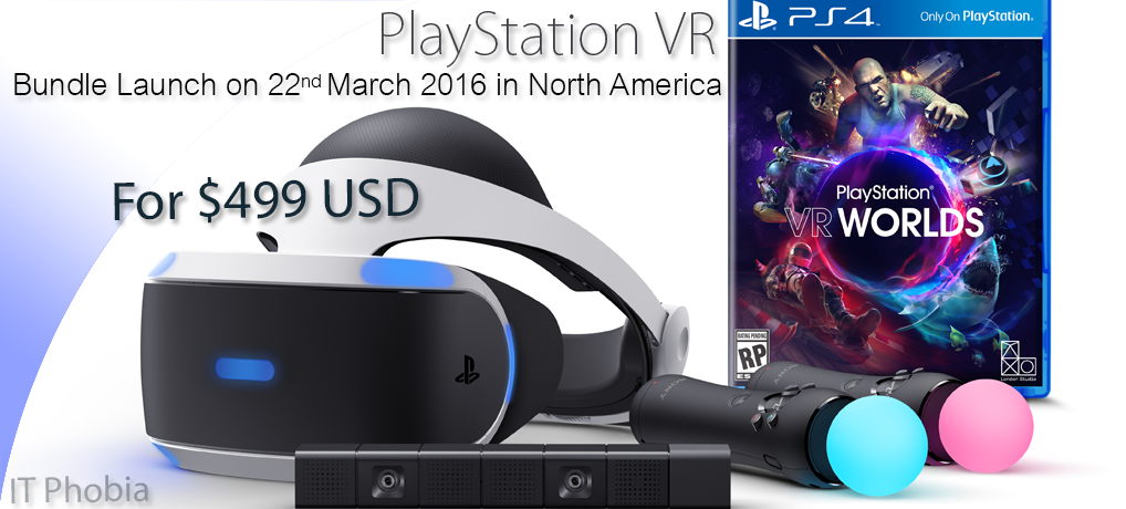 Sony Morpheus / PlayStation Virtual Reality Headset for PS4