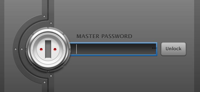 la mania del ban. Master-Password