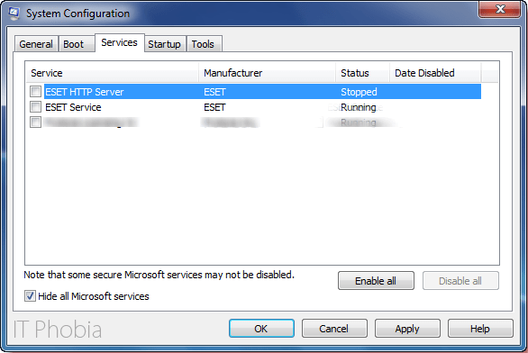 Microsoft setup bootstrapper has stopped working system configuration services