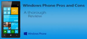 windows phone pros and cons featured image