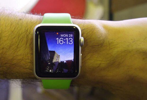 Clock face apple iwatch