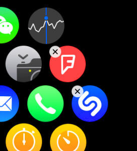 add remove apps apple iwatch