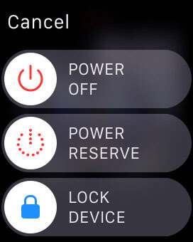 lock unlock Apple iWatch