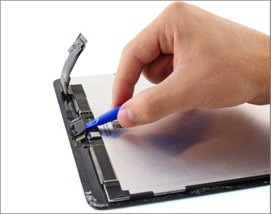 iPad air 2 screen replacement - Step 34 - Home button assembly