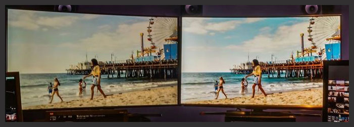 LED LCD vs OLED - High Dynamic Range and Expanded Color Gamut