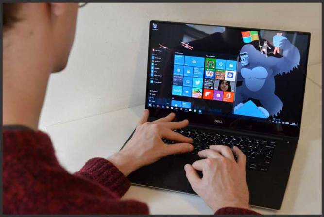 best laptop for writers dellxps15