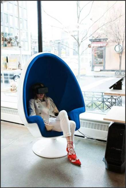 best stress relief gadgets - VR Relaxation Pods