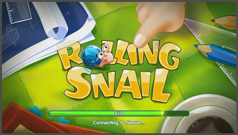 hot games for android - Rolling snail