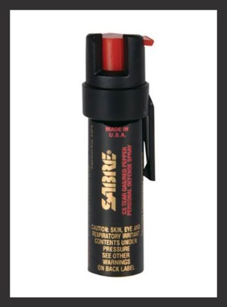 self defense tools - SABRE 3-IN-1 Pepper Spray
