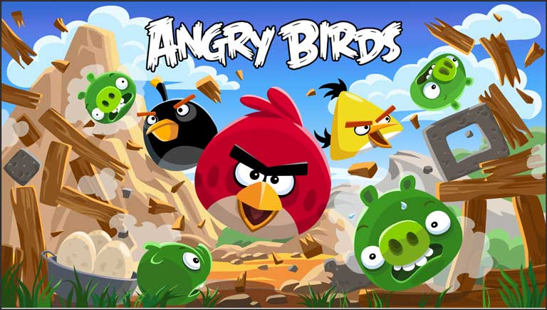 top 10 android games of all time - Angry Birds