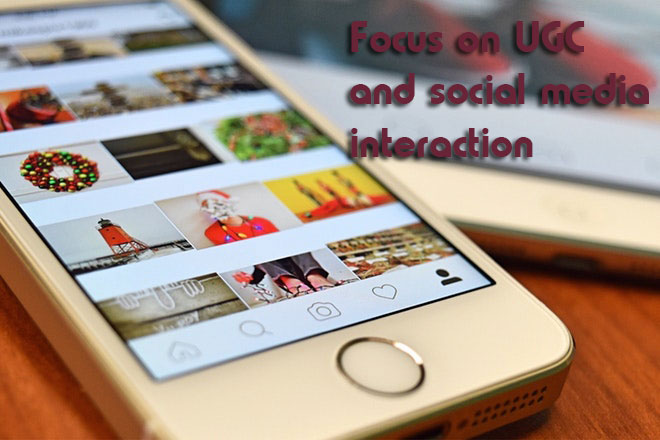 ecommerce innovations Focus on UGC and social media interaction