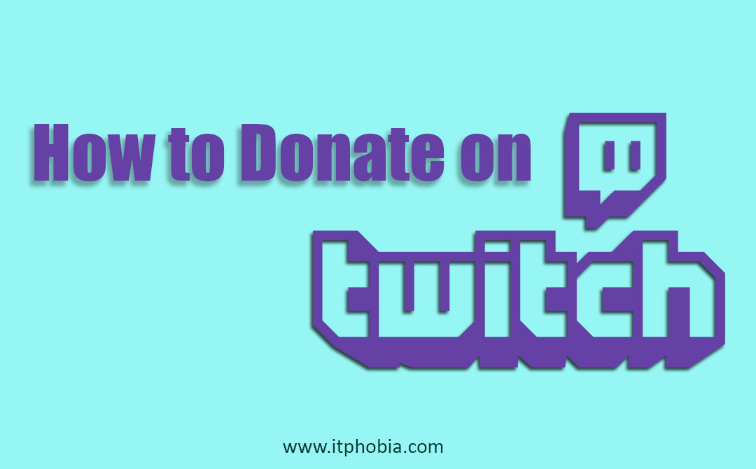 How to donate on Twitch with PayPal and another payment method Step-by-Step