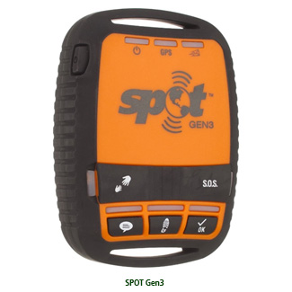 gps tracking device SPOT Gen3 ($149) Provides Global Tracking and Messaging