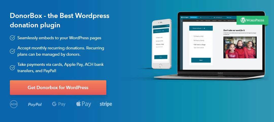 donerbox wordpress donation plugin featured image