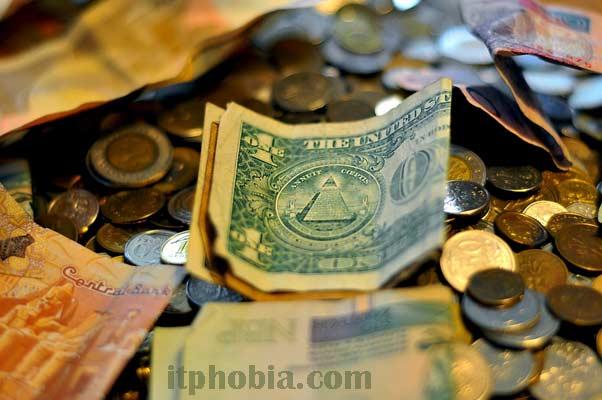 Fundraising Activity money