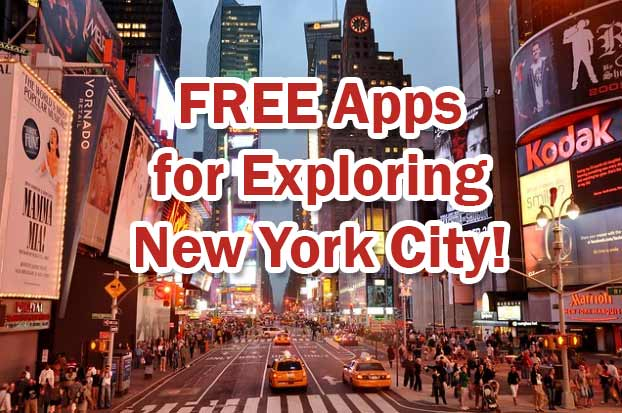 FREE Apps for Exploring New York City! Don't miss to explore now!