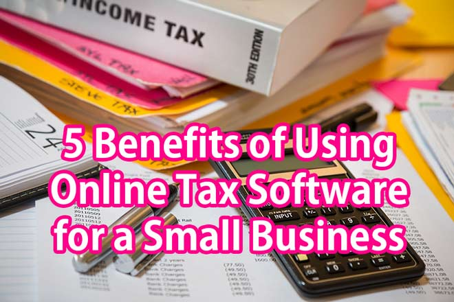 5 Benefits of Using Online Tax Software for a Small Business
