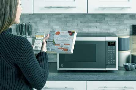 GE Smart Countertop Microwave Oven