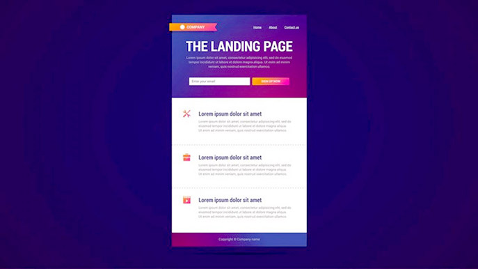 7 Tips Must Consider For Good Landing Page Design