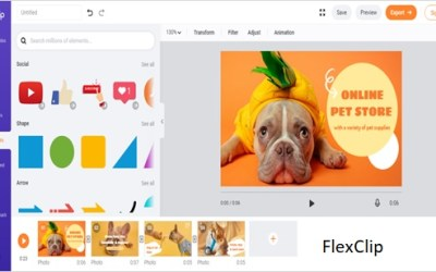 How to use FlexClip – Anyone can create a professional-level video with FlexClip